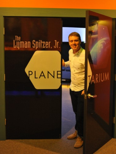 Oliver Ames is the new director of our Lyman Spitzer Jr. Planetarium.